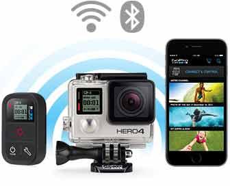 Comprar una GoPro HERO 4 Silver conectividad