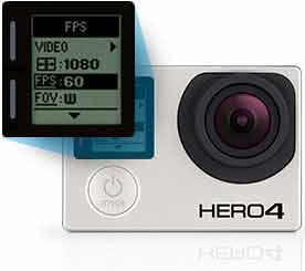 Comprar una GoPro HERO 4 Silver control mejorado