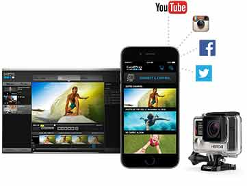 Comprar una GoPro HERO 4 Silver software